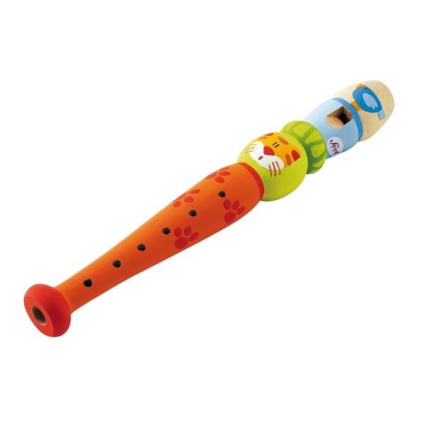 Flauta em Madeira Sevi