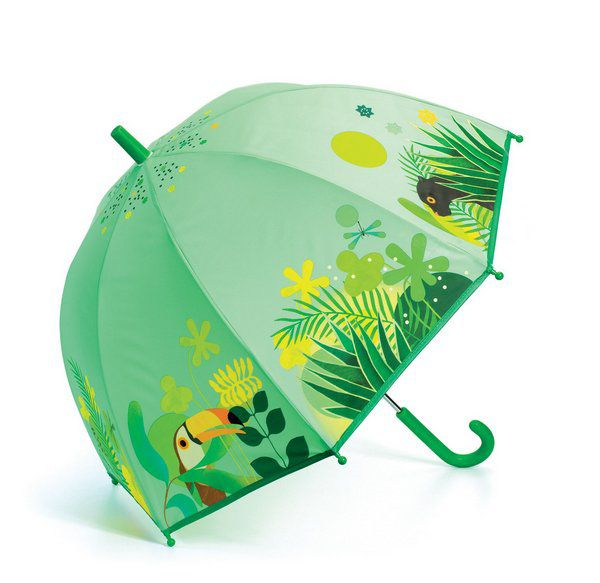 Guarda-Chuva Infantil Djeco - Floresta Tropical