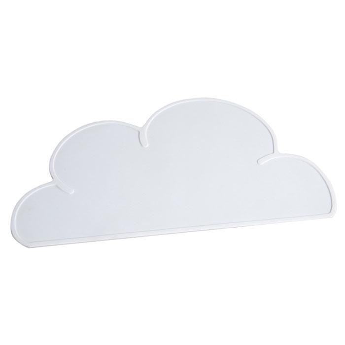 Jogo Americano em Silicone - Nuvem Branca