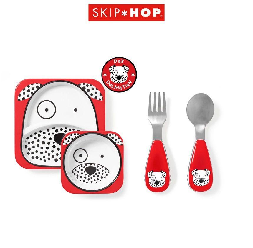 Kit de Pratos Skip Hop - Dálmata