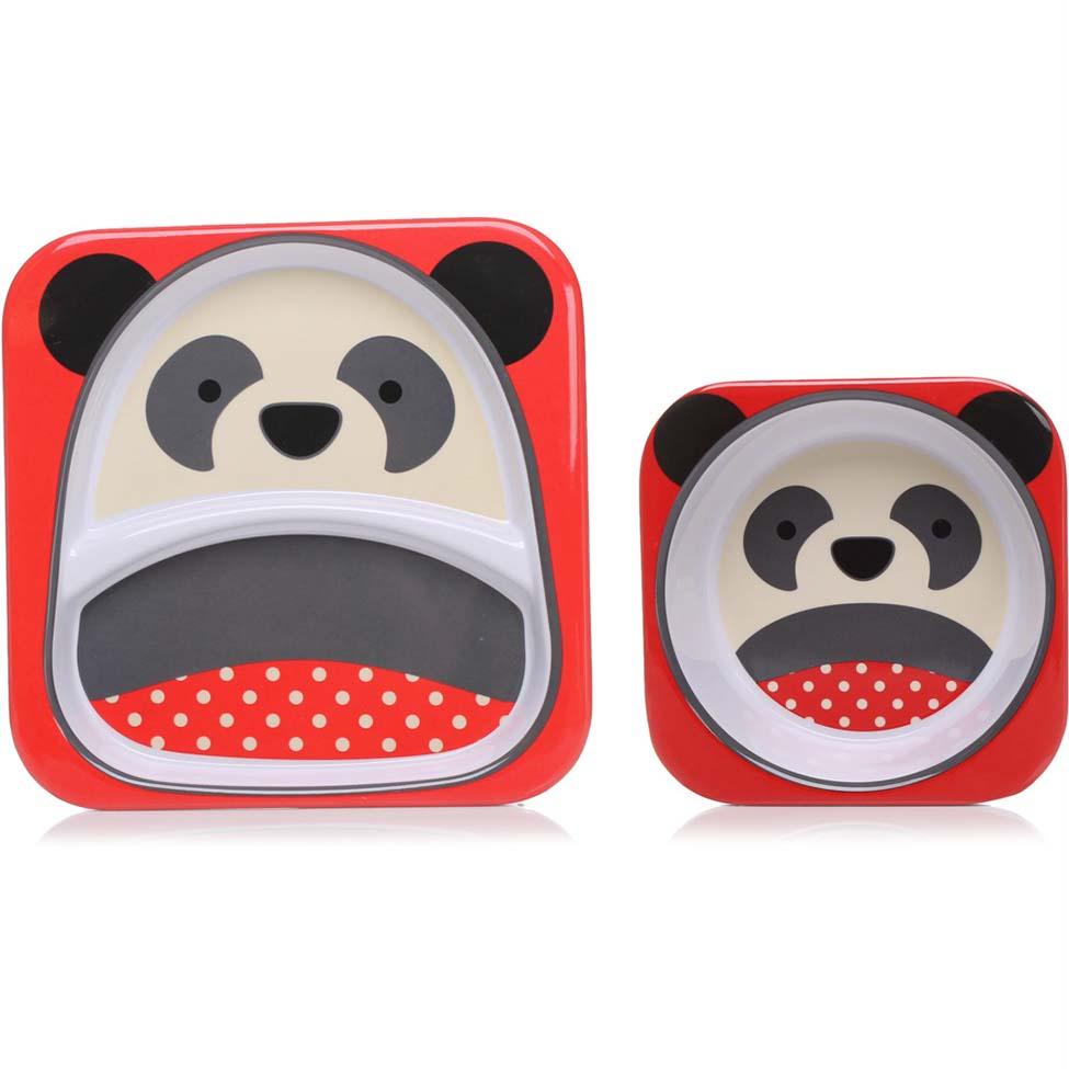 Kit de Pratos Skip Hop - Panda