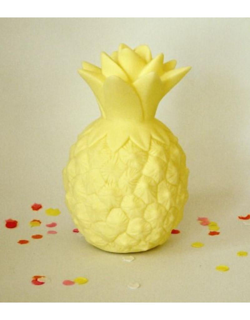 Luminária Infantil Abacaxi Amarelo - A Little Lovely Company