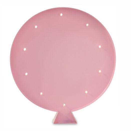 Luminária Infantil Balão - Rosa