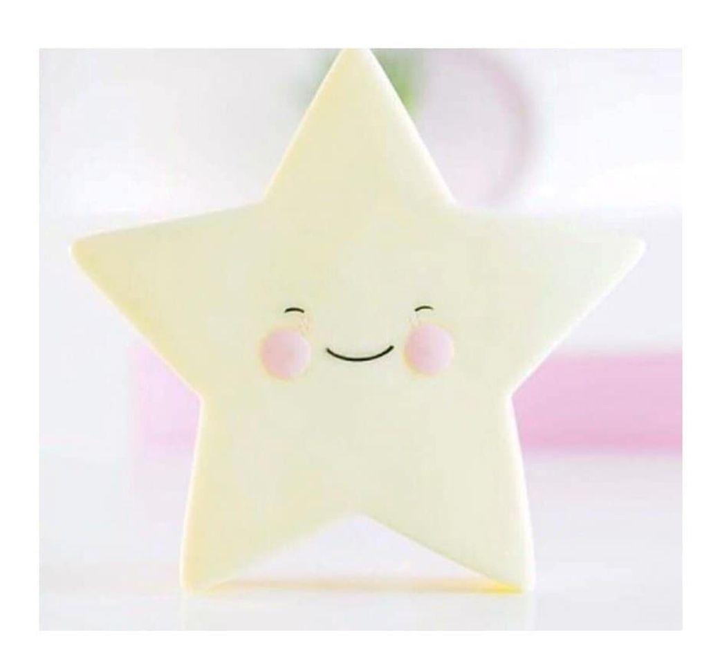 Luminária Infantil Estrela Amarela