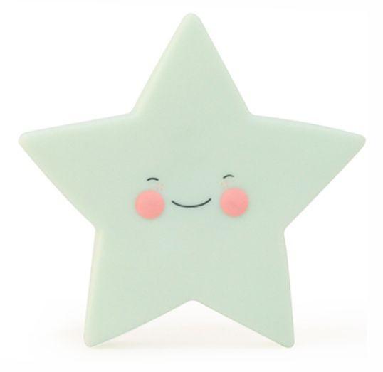 Luminária Infantil Estrela Menta