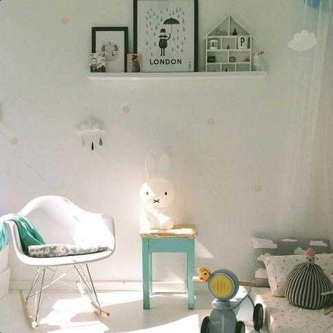 Luminária Coelha Miffy - LED sem fio