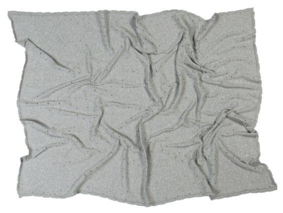 Manta Lorena Canals Galleta - Cinza 120 x 90 cm