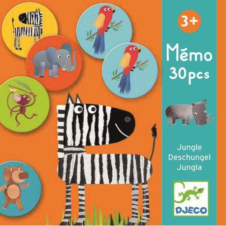 Memo Djeco -  Jogo da Memória Selva