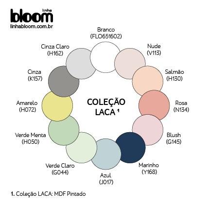 Mini-Berço Anis Color - Linha Bloom