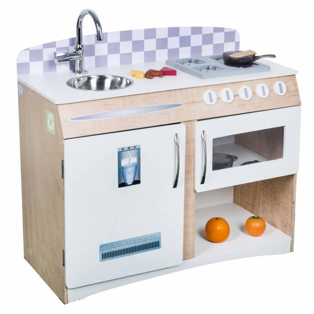 Cozinha de Madeira Infantil Compacta
