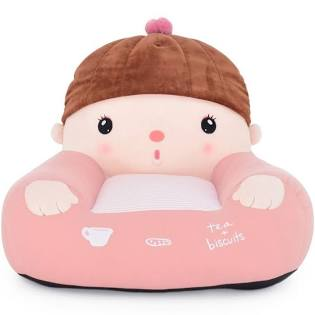 Mini Sofá Infantil Metoo Girl - Rosa