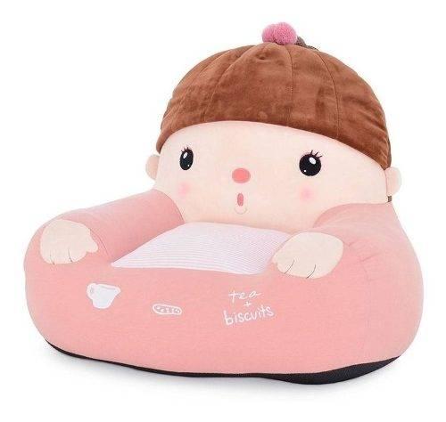 Mini Sofá Infantil Metoo Girl - Rosa
