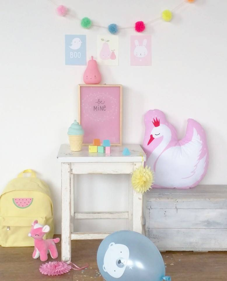 Mochila Infantil Amarela - Melancia