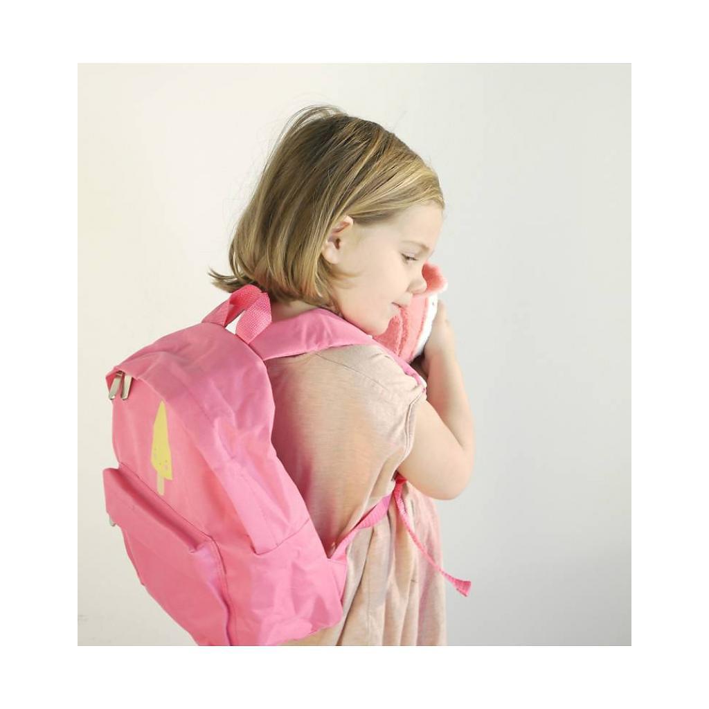 Mochila Infantil Rosa - Sorvete Picolé
