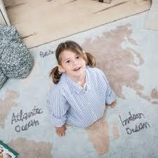 Tapete Lorena Canals - Mapa Mundi Vintage - 1.40 x 2.00 mts