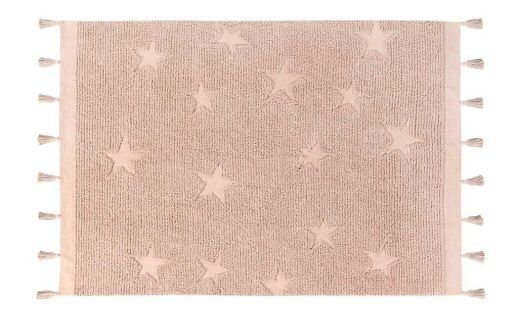 Tapete Lorena Canals Estrelas Hippy - Nude - 1.20 x 1.75 mts