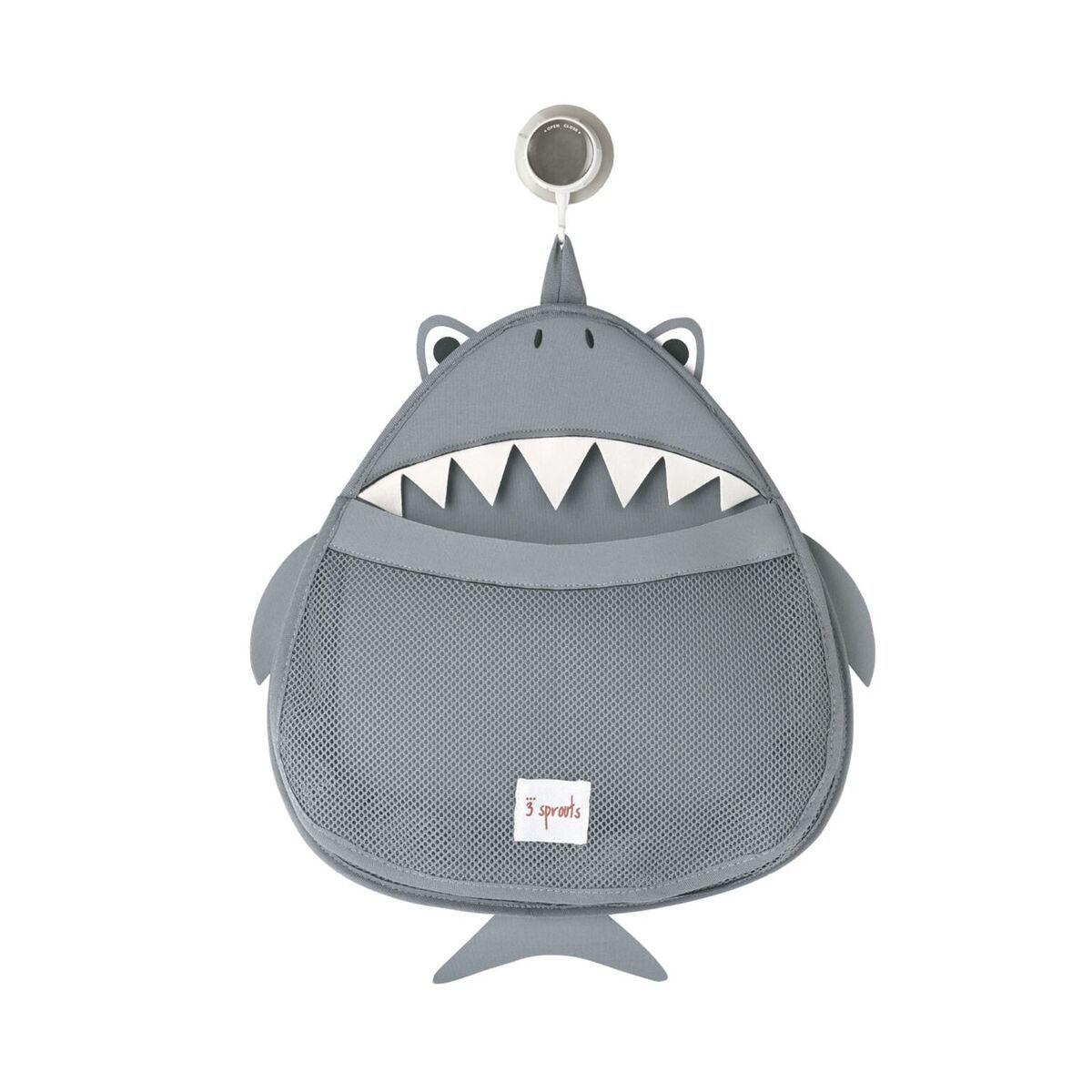 Organizador de Banho 3 Sprouts - Tubarão