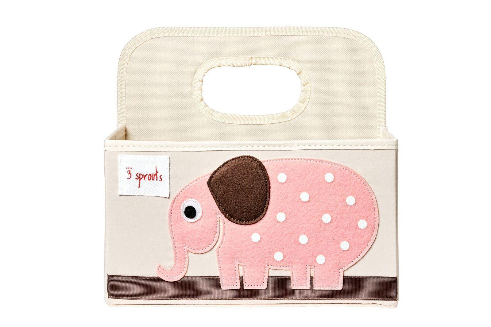 Organizador de Fraldas 3 Sprouts - Elefante