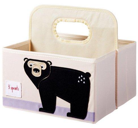 Organizador de Fraldas 3 Sprouts - Urso