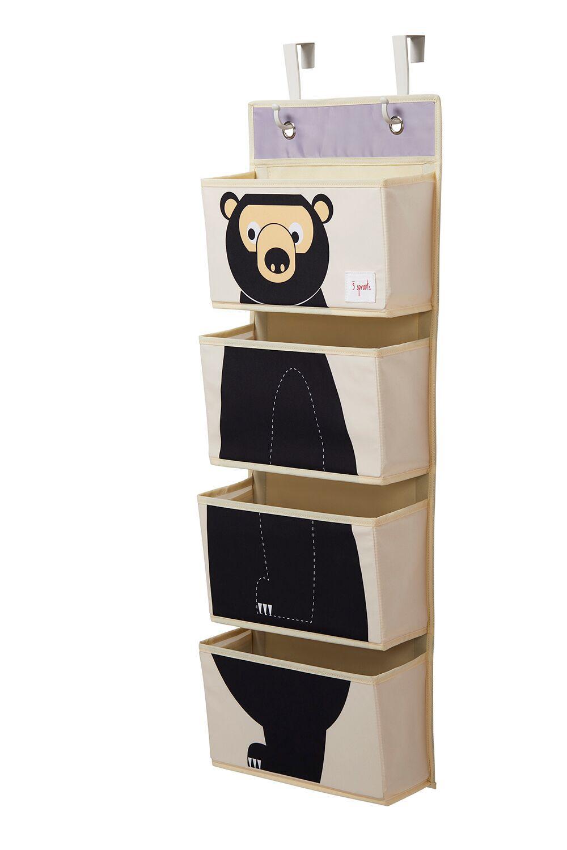 Organizador de Parede 3 Sprouts - Urso