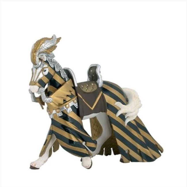 Papo Miniatura - Cavalo Drapejado Dourado