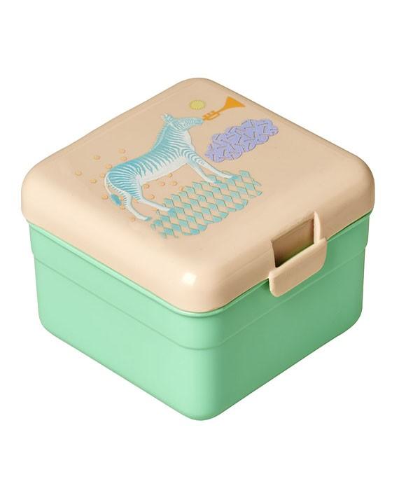 Pote Infantil para Lanche Verde - Animals - Rice DK