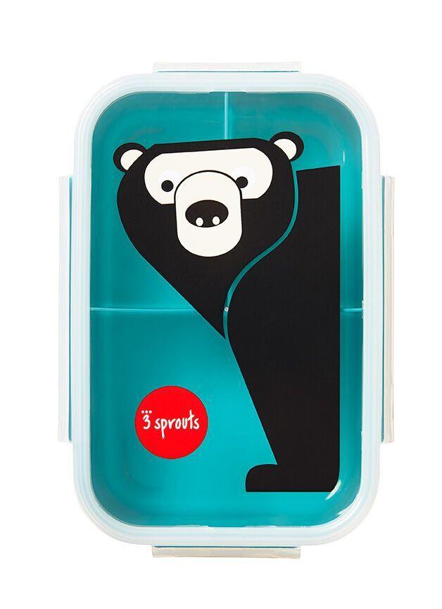Pote para Lanche - Bento Box 3 Sprouts - Urso