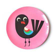 Prato Infantil Omm Design - Pássaro