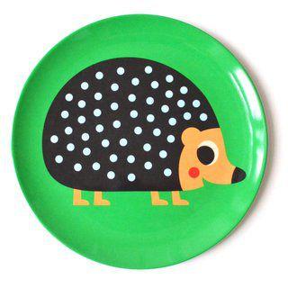 Prato Infantil Omm Design - Porco-Espinho
