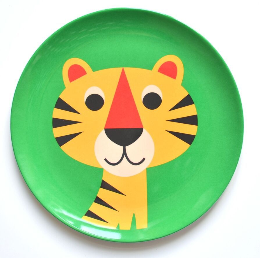 Prato Infantil Omm Design - Tigre