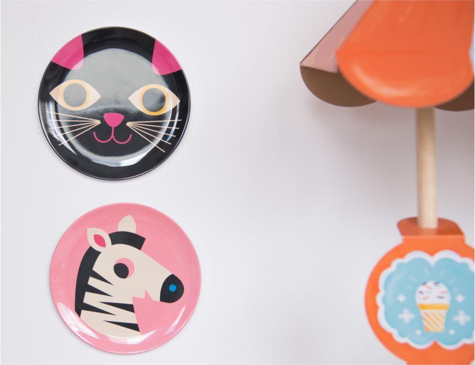 Prato Infantil Omm Design - Zebra