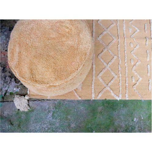 Puff Infantil Lorena Canals Chill Honey Amarelo Mostarda - 50 x 50 x 20 cm