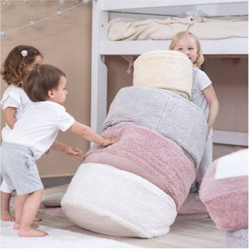 Puff Infantil Lorena Canals Chill - Nude Vintage 50 x 50 x 20 cm