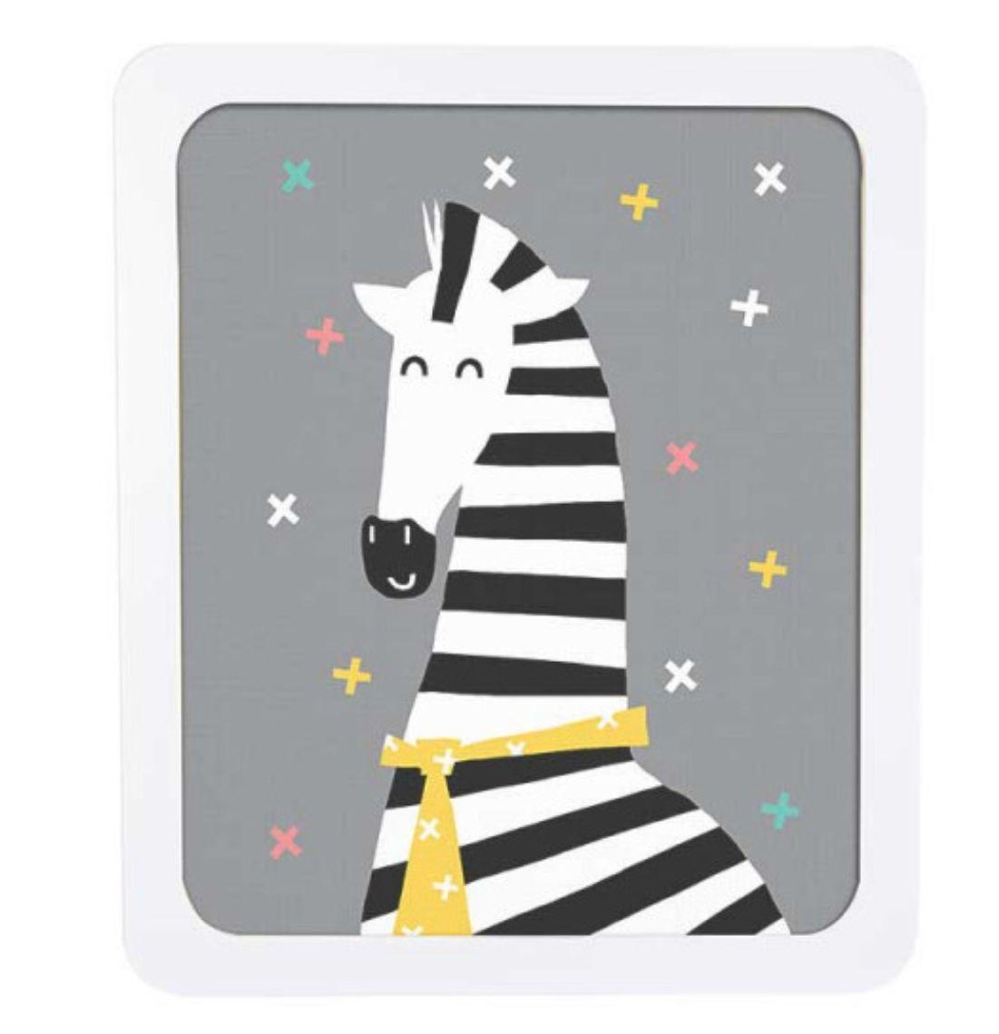 Quadro Infantil Adot - Zebra
