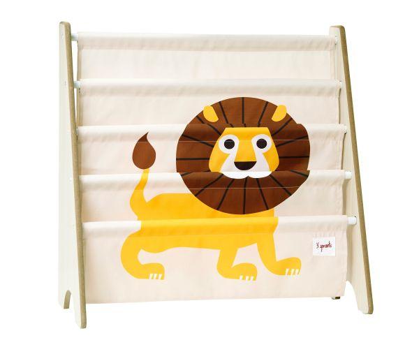 Rack Infantil para Livros 3 Sprouts - Leão