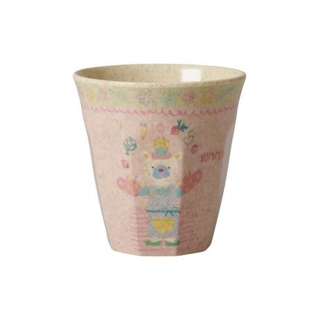 """""""Bamboo Cozinheiras"""" - Copo em Melamina Rice rosa"""