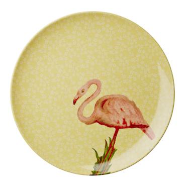 """""""Flamingo"""" - Prato Rice em Melamina"""