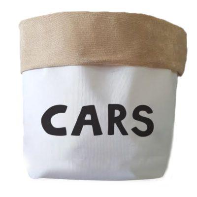Saco Organizador Infantil para Brinquedos - Bag Cars Pequena