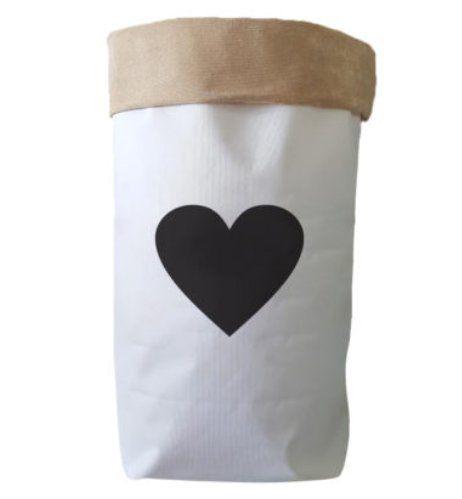 Saco Organizador Infantil para Brinquedos - Bag Coração