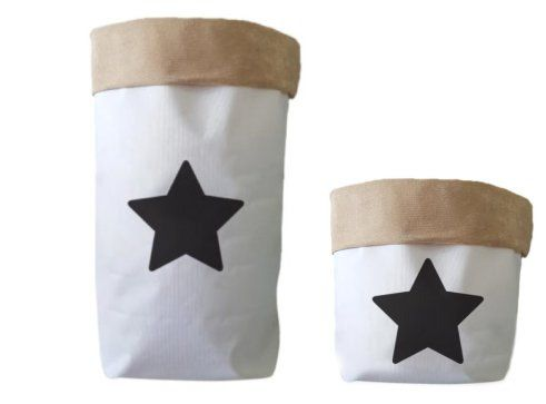Saco Organizador Infantil para Brinquedos - Bag Estrela - 2 Tamanhos
