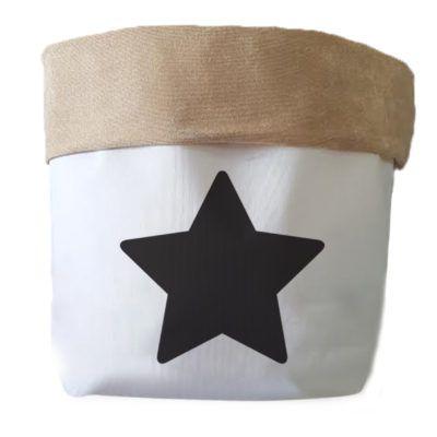 Saco Organizador Infantil para Brinquedos - Bag Estrela Pequena