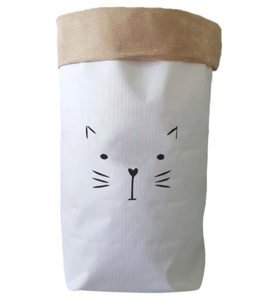 Saco Organizador Infantil para Brinquedos - Bag Gato