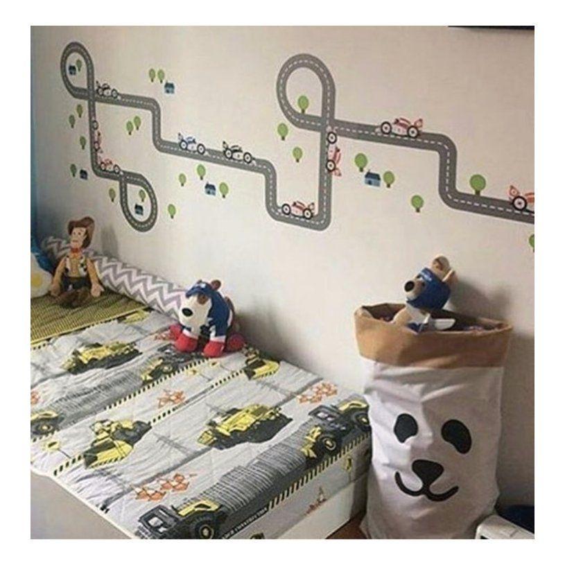 Saco Organizador Infantil para Brinquedos - Bag Panda - 2 Tamanhos