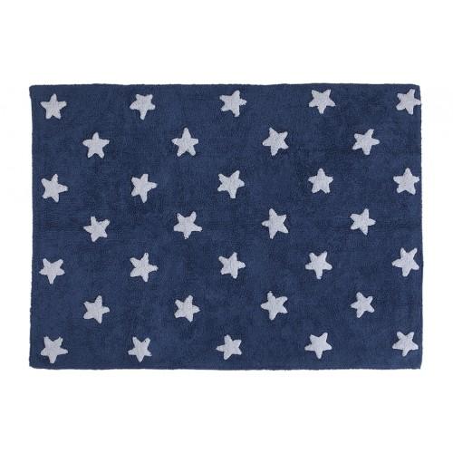 Tatepet Lorena Canals Azul Marinho Navy com Estrelas Brancas