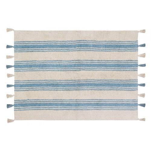 Tapete Lorena Canals Azul - Listas