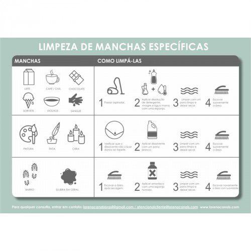 Tapete Lorena Canals Bege Bereber Rhombs -  1,40 x 2,10 m
