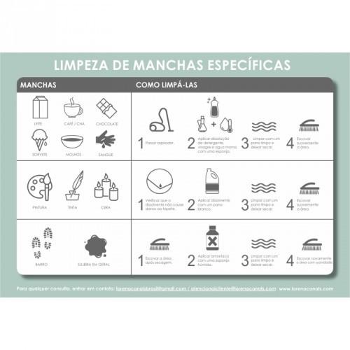 Tapete Lorena Canals Cinza Escuro - Listas