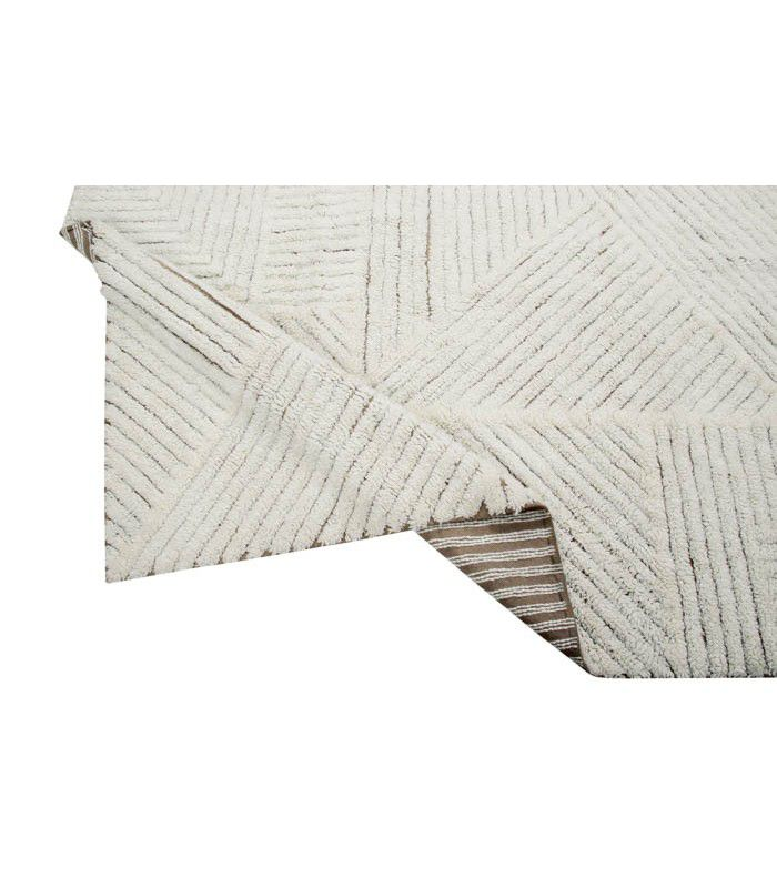 Tapete Lorena Canals Woolable em Lã Almond Valley 240 x 170 cm