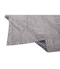Tapete Lorena Canals Woolable em Lã Black Chia 240 x 170 cm