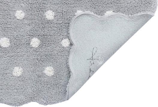 Tapete Lorena Canals MiniOnes Biscuit Cinza Perolado - 70 x 100 cm